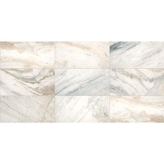 American Olean Natural Stone, Stone Tile, Presario Collection, Multi-Color, 12x24 Tiles American Olean Luman White
