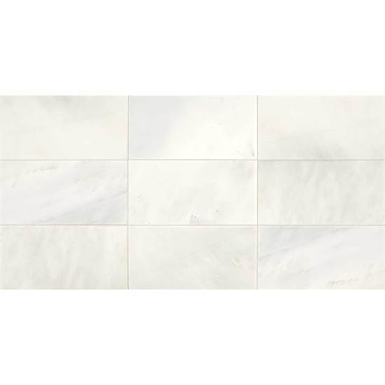 American Olean Natural Stone, Stone Tile, Candora Collection, Multi-Color, 12x24 Tiles American Olean Vestal White