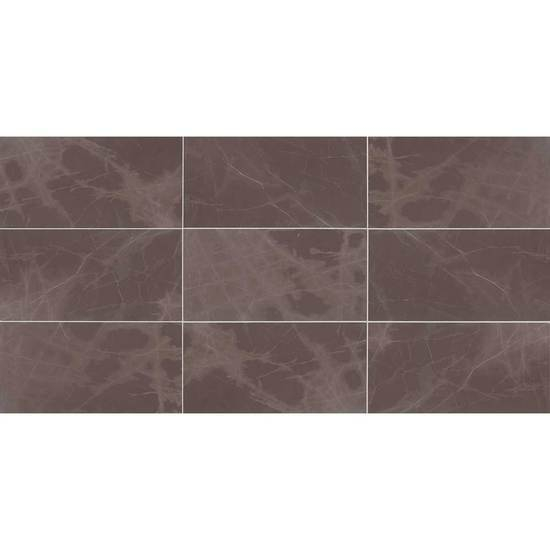 American Olean Natural Stone, Stone Tile, Candora Collection, Multi-Color, 12x24