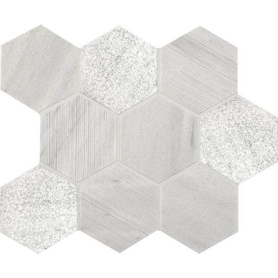 American Olean Natural Stone, Mosaic Tile, Ascend Collection, Multi-Color, 14x12
