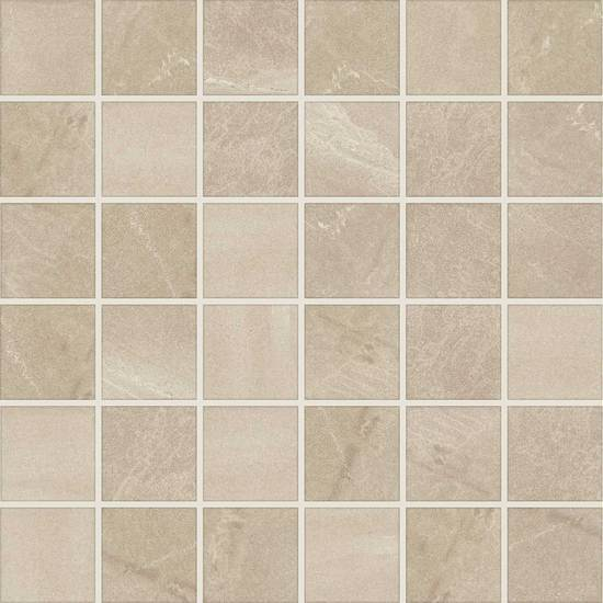 American Olean Glazed Porcelain Mosaic with StepWise Tile, Merit Collection, Multi-Color, 12x12