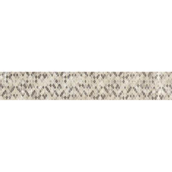American Olean Colorbody Porcelain Decorative Tile, Scene Collection, Multi-Color, 4x24