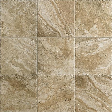 Marazzi Glazed Porcelain, Floor and Wall Tile, Archaeology, Multi-Color