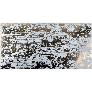 Soho Studio Porcelain Tiles, Art Abstract, Multi-Color, 24x24 Tiles Soho Studio Bianco