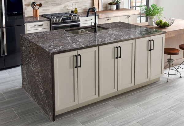Viatera Quartz Counter-top, Musica Collection, Basso Slabs Viatera