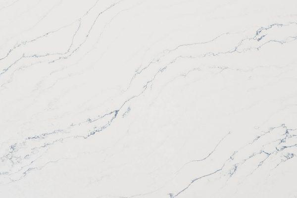 Vadara Quartz Slabs, Paris Collection, Bianco Venato