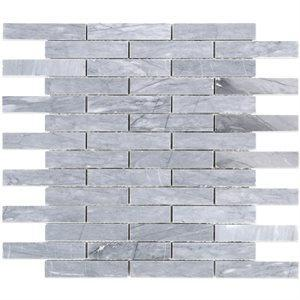 Soho Studio Marble Tiles, Burlington Gray, Multi-Color, 12x12