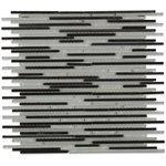Soho Studio Closeout Tiles, Ice Stiletto, 11x11
