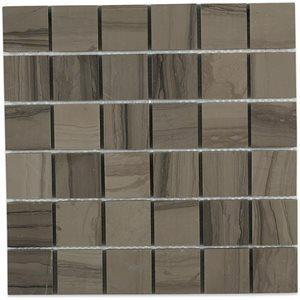 Soho Studio Closeout Tiles, Athens Gray, Multi-Color, 12x12