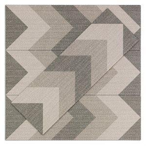 Soho Studio Closeout Tiles, Carpeta, Multi-Color, 12x36