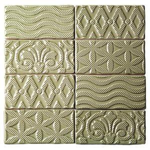 Soho Studio Closeout Tiles, Masia Jewel, Multi-Color, 3x6