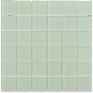 Soho Studio Glass Tile, Crystal Frosted, Multi-color, 12x12