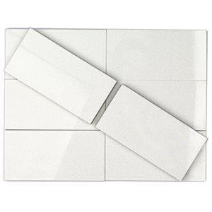Soho Studio Porcelain Tiles, Crystal Tech, 3x6