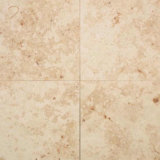 American Olean Natural Stone, Floor Tile, Limestone Collection, Multi-Color, 12x12 Tiles American Olean Jura Stone Beige