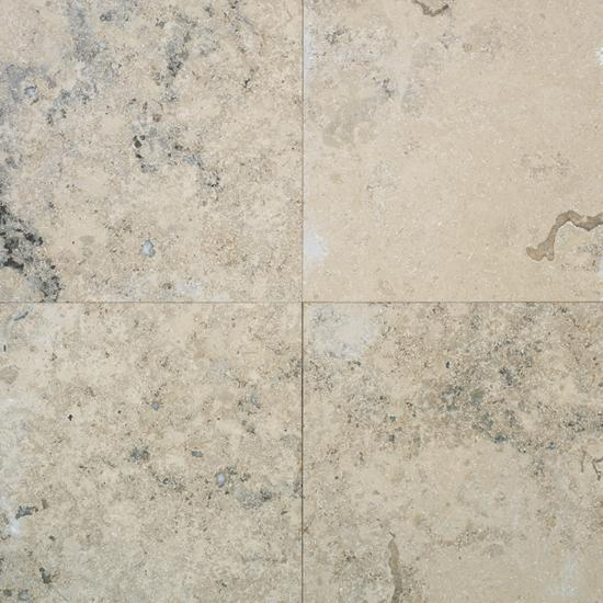 American Olean Natural Stone, Floor Tile, Limestone Collection, Multi-Color, 12x12