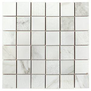 Soho Studio Porcelain Tiles, Encounter, Multi-Color, 12x12