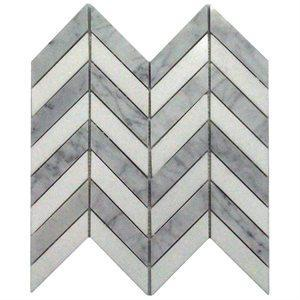 Soho Studio Marble Tiles, Falcon, Multi-Color, 10x10