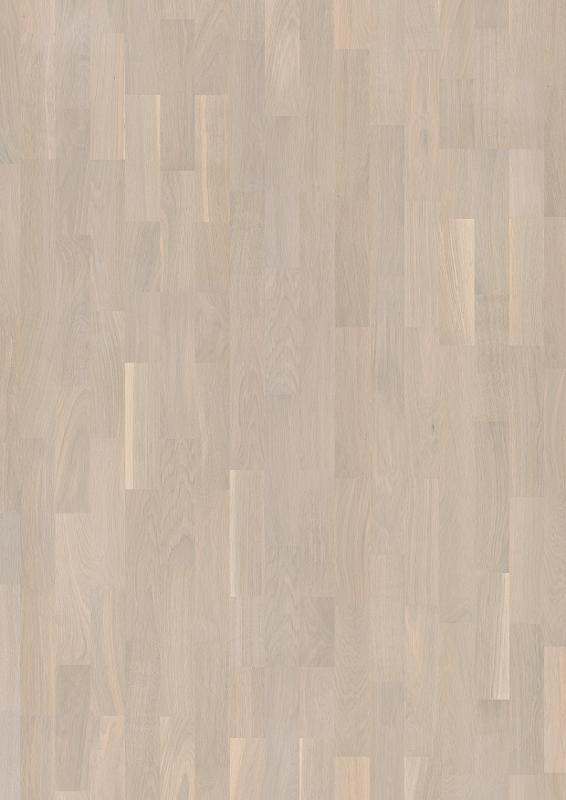 Boen Hardwood, Oak Concerto white 3strip LP