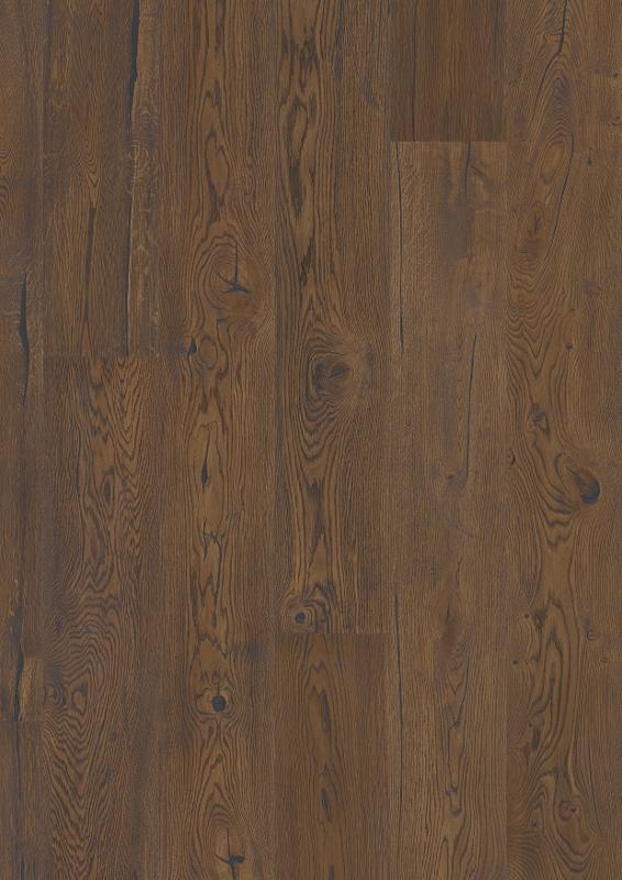 Boen Hardwood, Oak Antique Brown Castle Plank
