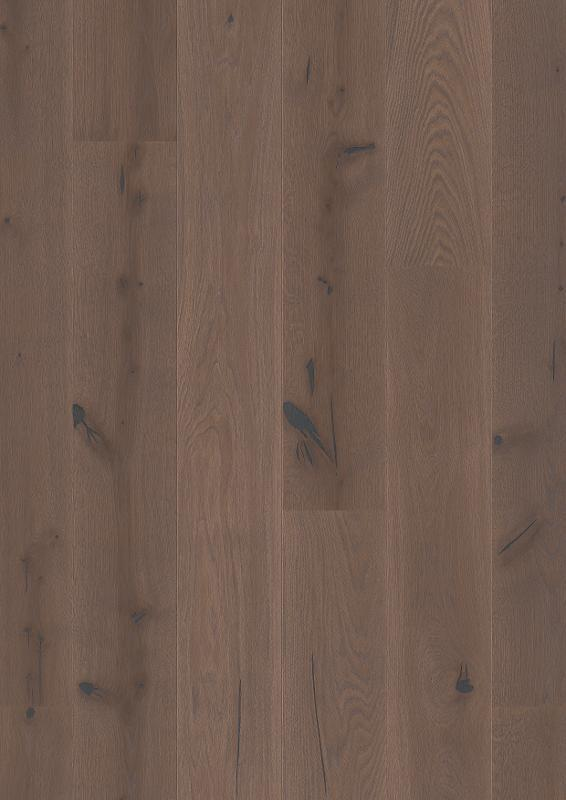 Boen Hardwood, Oak Elephant Grey Castle plank Hardwood Boen