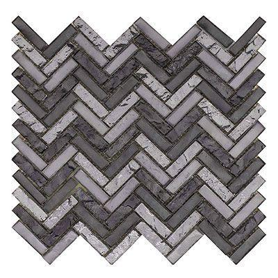 Porcelanosa Mosaics Tile, Harmony Arrow, Multi-Color