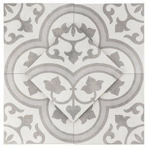 Soho Studio Porcelain Tiles, Havana, Multi-Color, 9x9