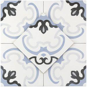 Soho Studio Porcelain Tiles, Hermosa, Multi-Color, 9x9