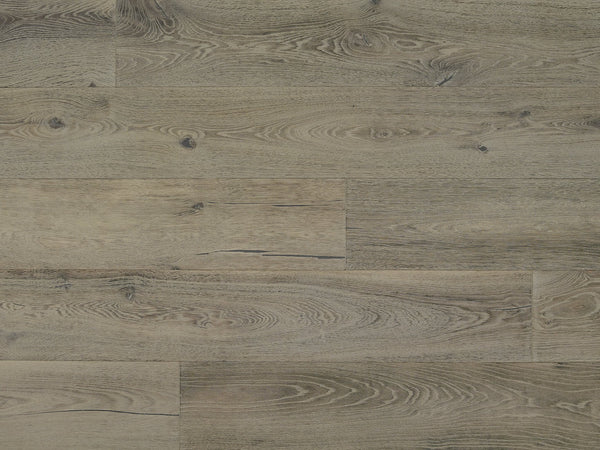 "Monarch Plank, Prefinished Hardwood, La Rue Collection, 4mm Top Layer, UV Oil Finish, Ternes, 9-1/2"" x 74-3/4"""