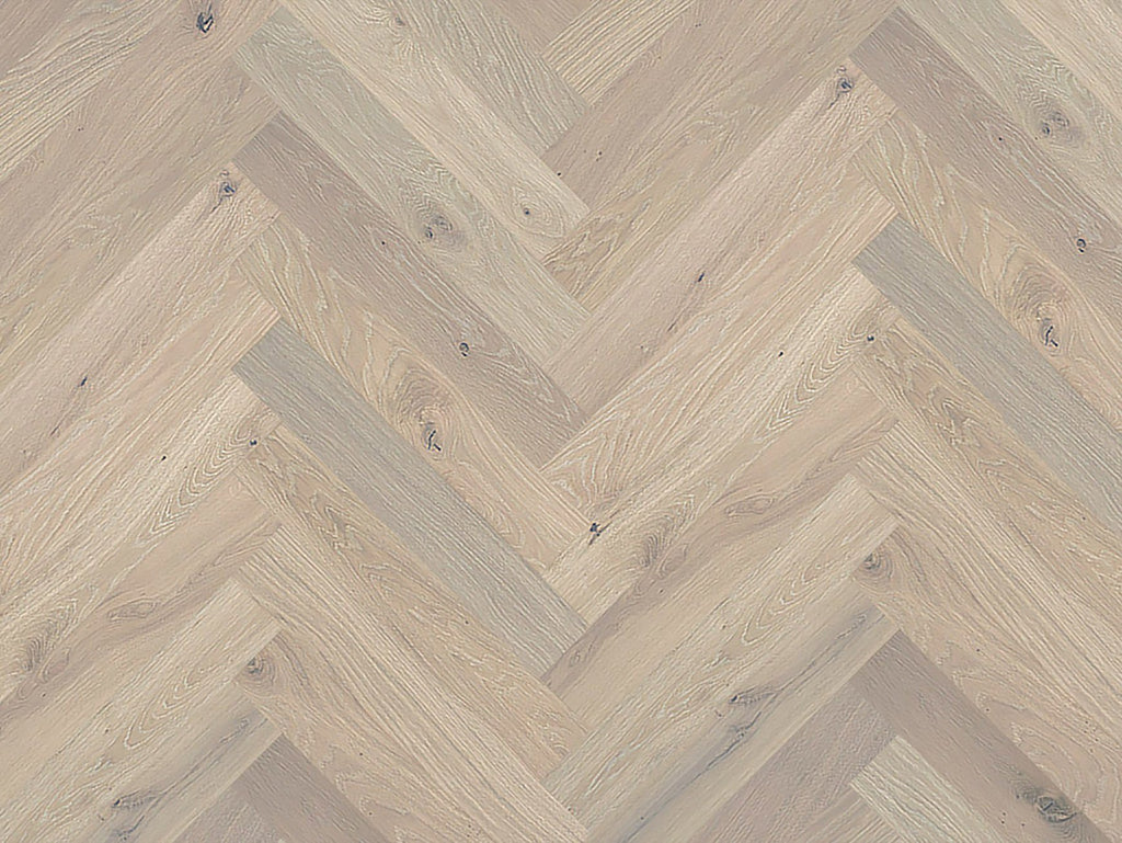 "Monarch Plank, Prefinished Hardwood, Lago Herringbone Collection, 3mm Top Layer, Urethane Finish, Como Herringbone, 4-3/8"" x 26"""
