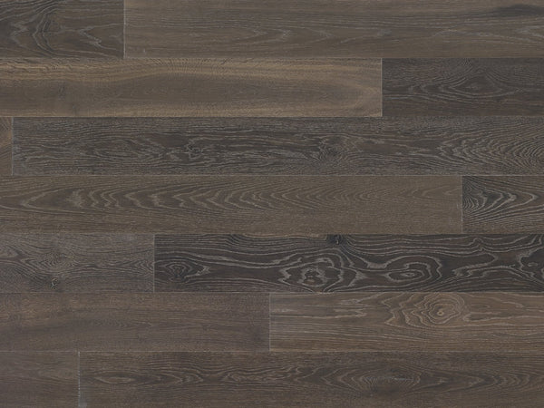 "Monarch Plank, Prefinished Hardwood, Lago Collection, 3mm Top Layer, Urethane Finish, Moro, 7"" x 2-6"""