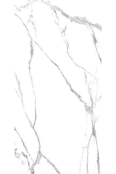 SinterClad, Porcelain Slab, Naturale Collection, Statuario A