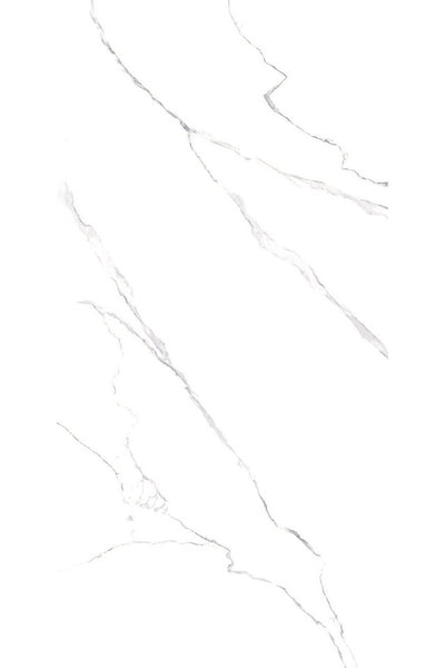 SinterClad, Porcelain Slab, Naturale Collection, Volkas Bianco