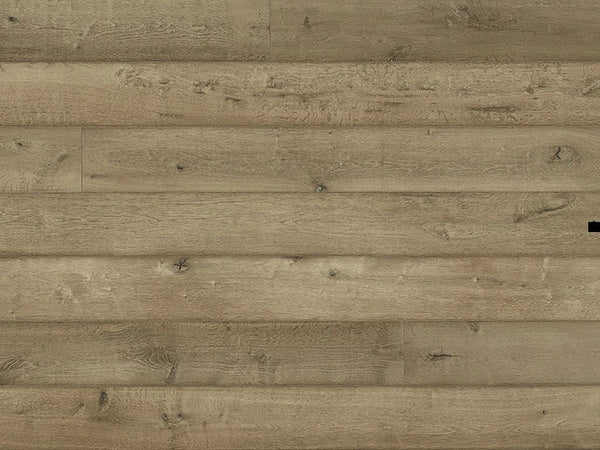 "Monarch Plank, Prefinished Hardwood, Navona Collection, 3.5mm Top Layer, Urethane Finish, Nebbia, 7-1/2"" x 8"""