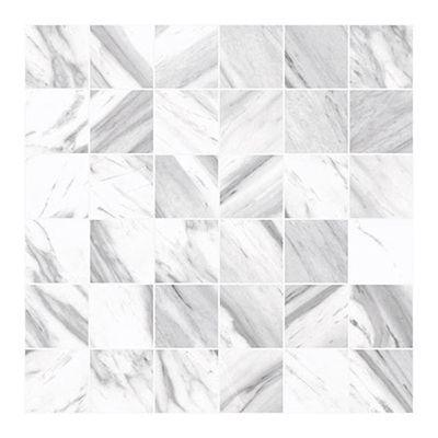 Porcelanosa Wall Tile, Soul White, Multi-Color