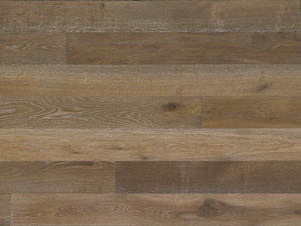 "Monarch Plank, Prefinished Hardwood, Storia II Collection, 2mm Top Layer, UV Oil Finish, Pesaro, 7"" x 2-8"""