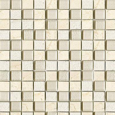 "Porcelanosa Mosaics Tile, Time Texture, Multi-Color Tiles Porcelanosa USA Cream 11""X12"""