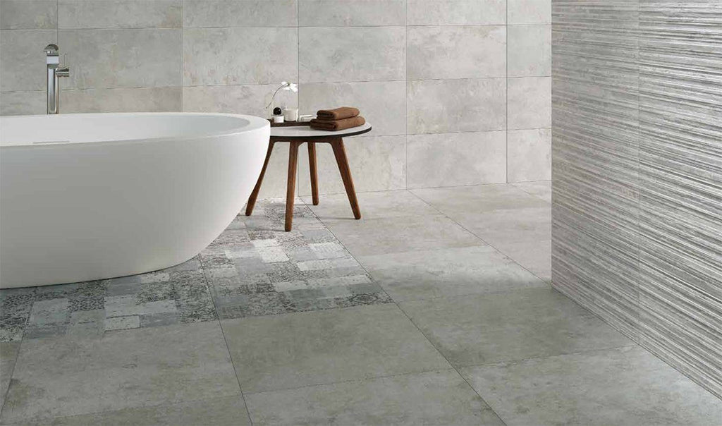 SinterClad, Porcelain Slab, Urbano Collection, Stuco Gris