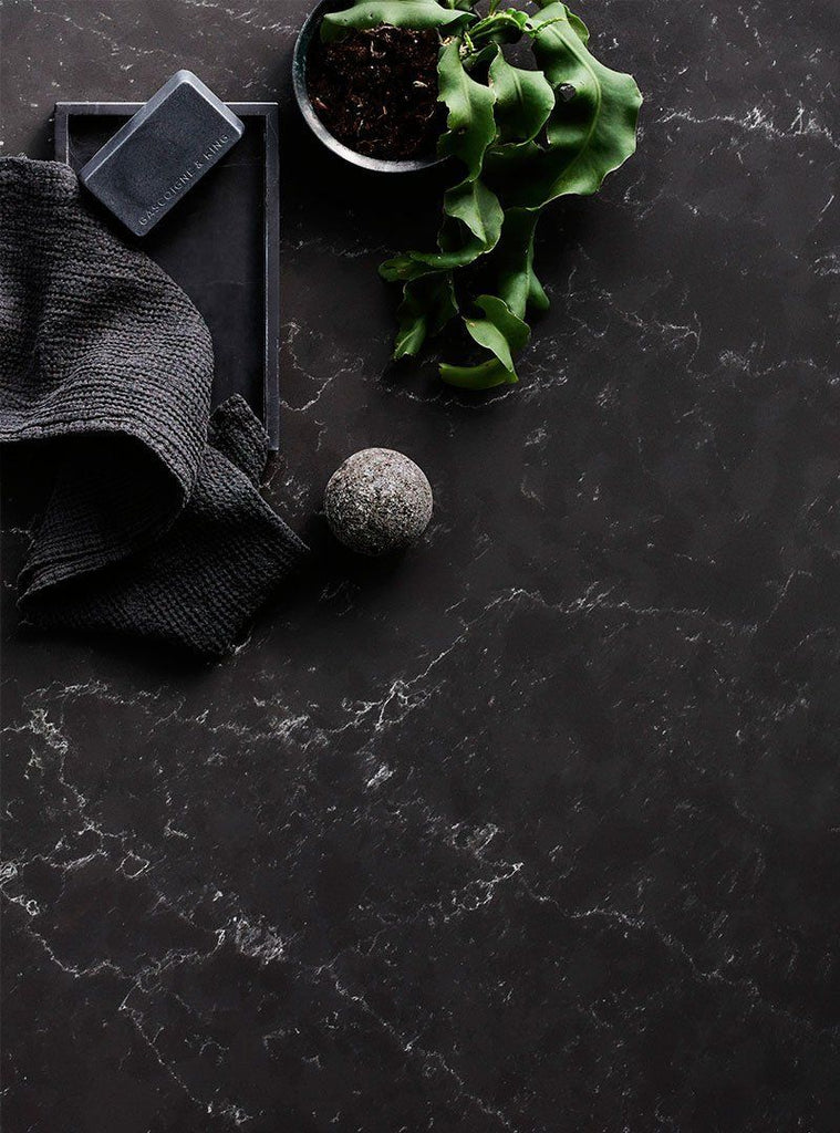 Vadara Quartz Slabs, Milan Collection, Petra Grigio