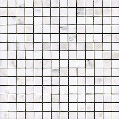"Porcelanosa Mosaics Tile, Victorian, Multi-Color Tiles Porcelanosa USA Blanco Marmara 12""X12"""