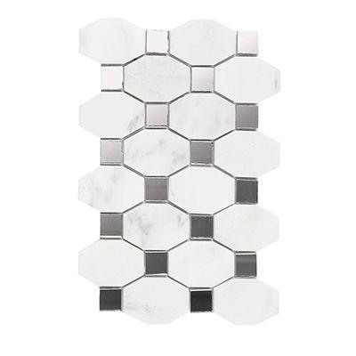 Porcelanosa Mosaics Tile, Victorian, Multi-Color