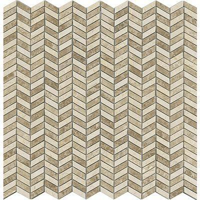 "Porcelanosa Mosaics Tile, Weft, Multi-Color Tiles Porcelanosa USA Beige 13""X12"""