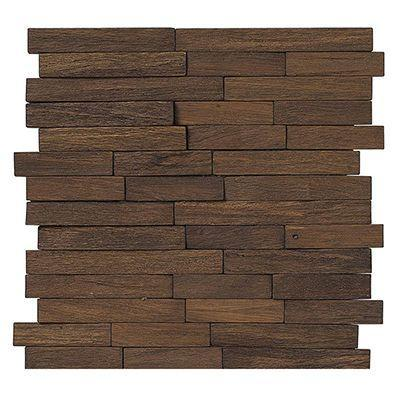 "Porcelanosa Mosaics Tile, Wood, Multi-Color Tiles Porcelanosa USA Brick Acero 11""X11"""