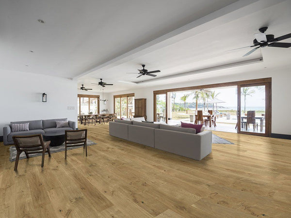 "Monarch Plank, Prefinished Hardwood, Windsor Collection, 3.5mm Top Layer, Urethane Finish, Berkshire, 7-1/2"" x 8"""
