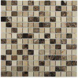 Soho Studio Marble Tiles, Woodland Blend, 12x12 Tiles Soho Studio Squares