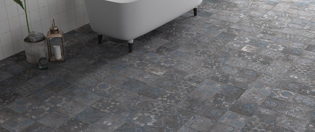 WOW Floor Tiles, Mestizaje Collection, Chateau Antique, Multi Color