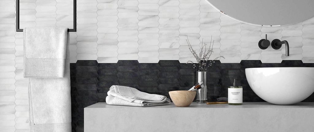WOW Floor & Wall Tiles, Love Affairs Collection, Calacatta Mini Crayon