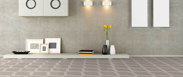 WOW Floor Tiles, Drops Collection, Rhombus Decor, Multi Color Tiles Wow Designs