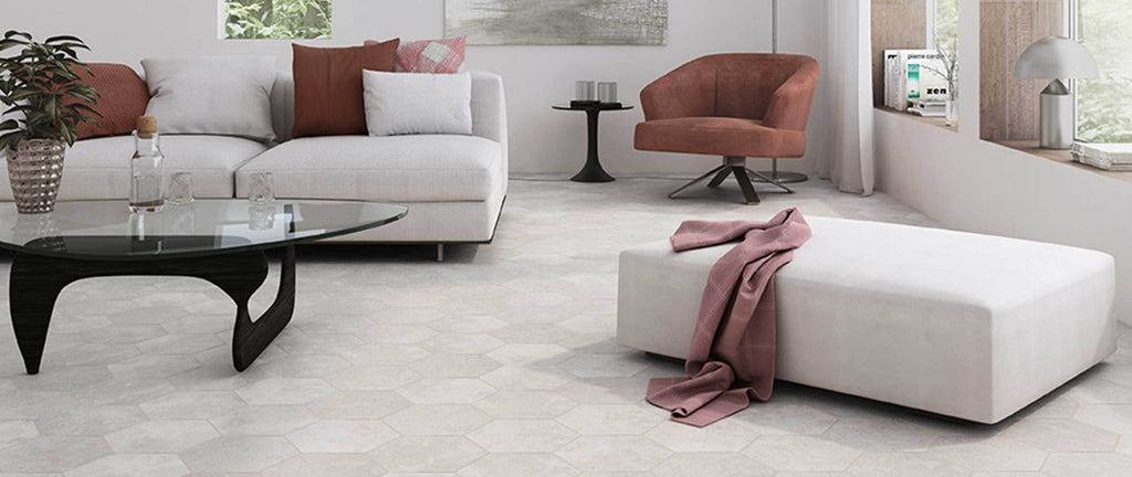 WOW Floor & Wall Tiles, Love Affairs Collection, Aura Hexagon