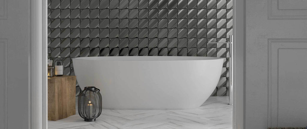WOW Wall Tiles, Metallic Edition, Wave Contract