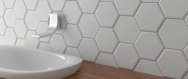 WOW Wall Tiles, Subway Lab Collection, Mini Hexa, Multi Color Tiles Wow Designs